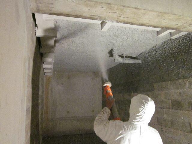 flocage anti condensation et acoustique